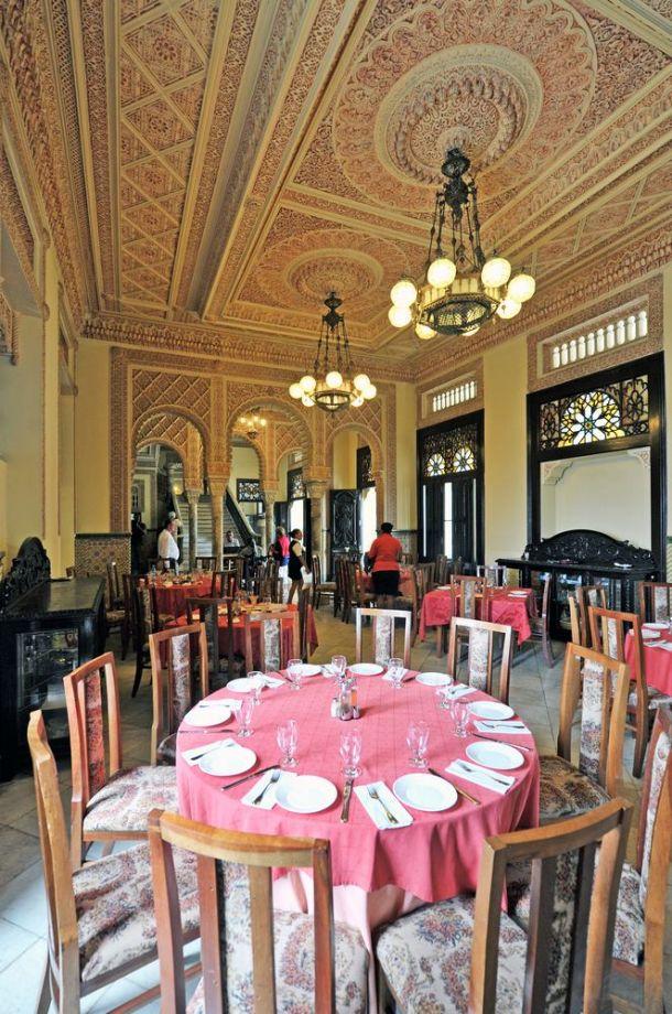Cienfuegos - Palacio de Valle - dining room - Cuba