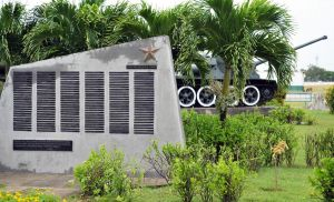 Giron - museum to Bay of Pigs invasion - Cuba