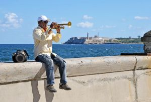 Havana - Malecon - trumpet solo 2 - Cuba