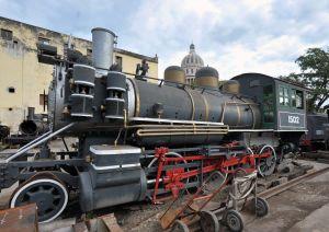 Havana - railway graveyard and Capitol Building 4 - Cuba