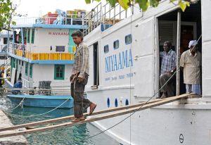 Maldives,Male, fishing fleet 5