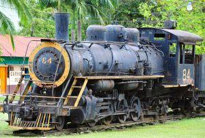 Derelict Plantation freight train, Sierpe, Costa Rica