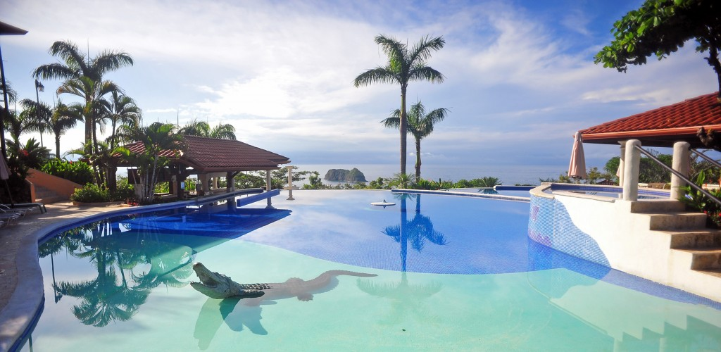 El Parador Hotel, main pool 2, Manuel Antonio