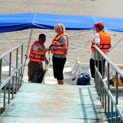 River-scene,-Sierpe,-embarking-to-Corcovado