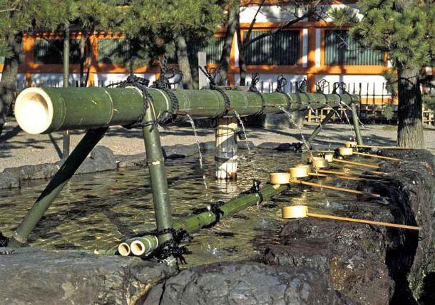 Buddhist Shrine drinking fountain