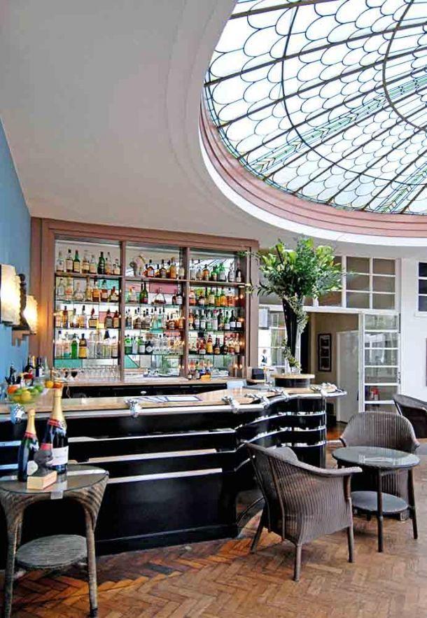 Burgh Island bar