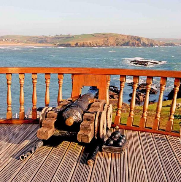 Burgh Island cannon
