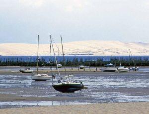 Dune du Pilat from dry bay
