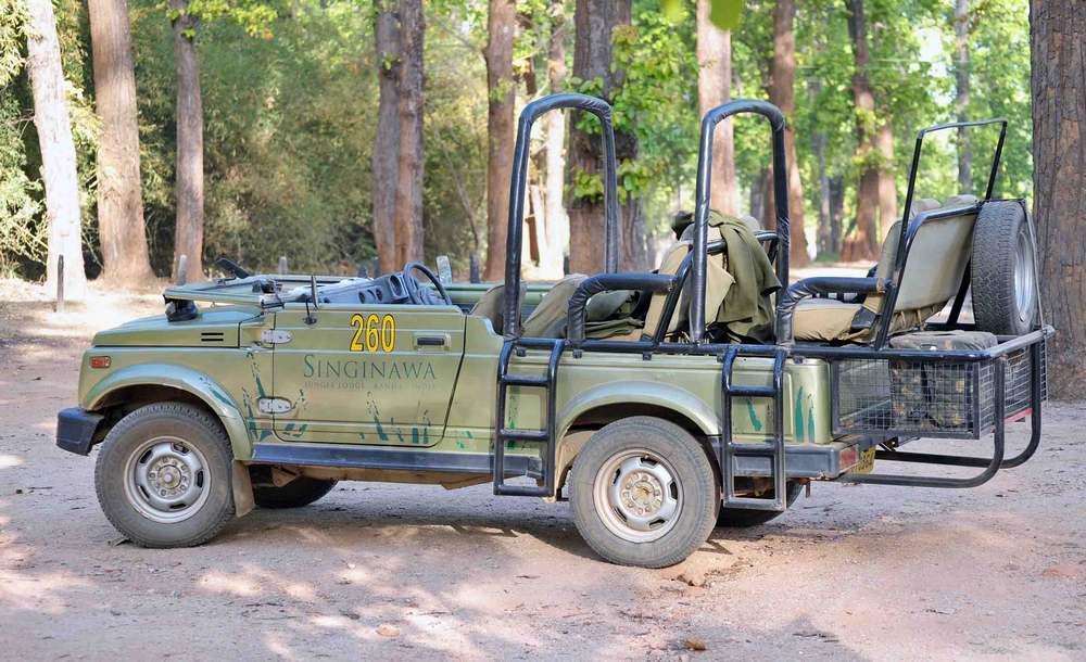 Singanawa jeep,Kanha National Park, Madhya Pradesh, India