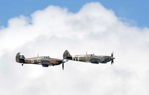 Spitfire and Hurricane pair 6