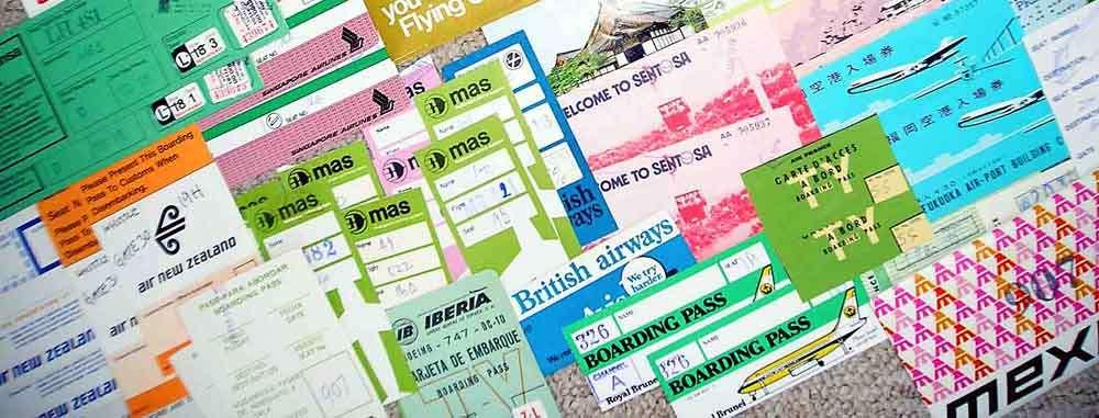 Boarding-tickets TLC