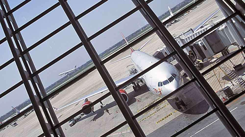 Shanghai airport TLC