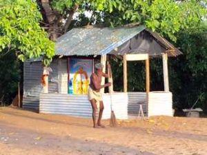 Uga beach shrine