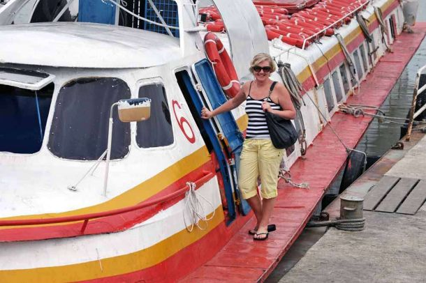 TLC Cherrie boardng Skimmer to Pulao Ketam 1