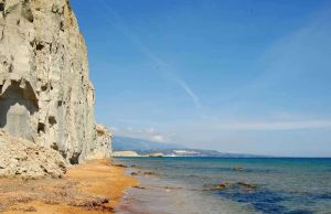 TLC Kefalonia coastline near Vassiliki