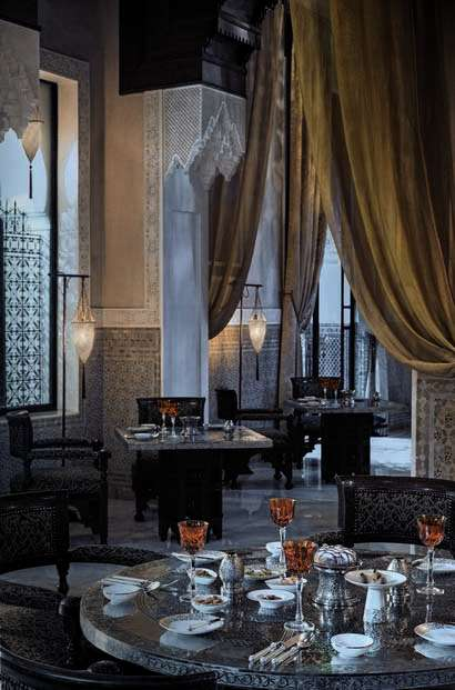 TLC Royal Mansour - Grande - Table - Marocaine