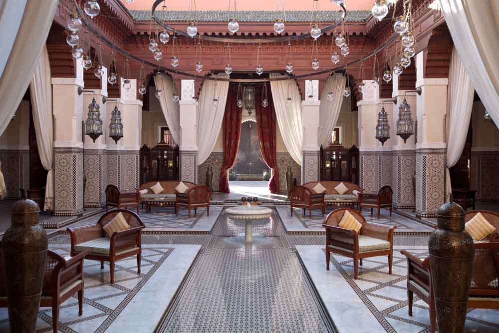 TLC Royal Mansour - Lobby