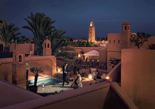 TLC Royal Mansour - Terrace - Riad