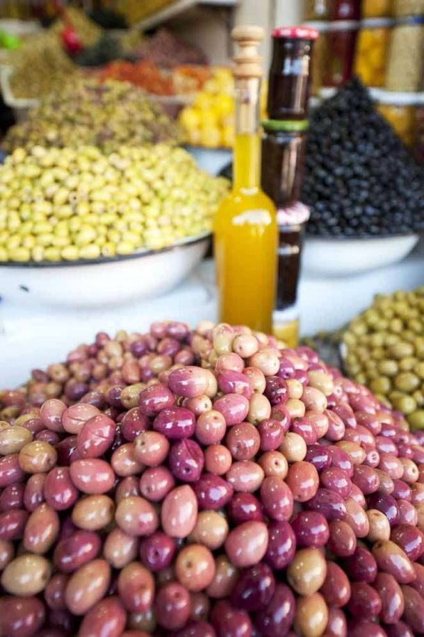 TLC Tours olive stall 2