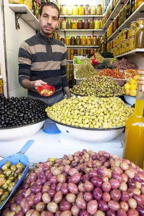 TLC Tours olive stall 3