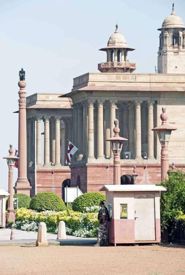 TLC Parliament buildings Delhi 1