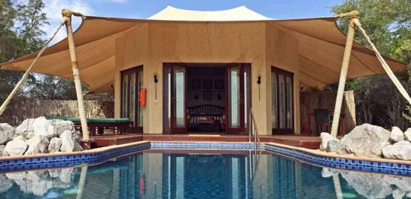 Al Maha – desert oasis in Dubai