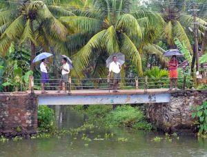 India, Kerala, Cochin, waterways meeting place 2
