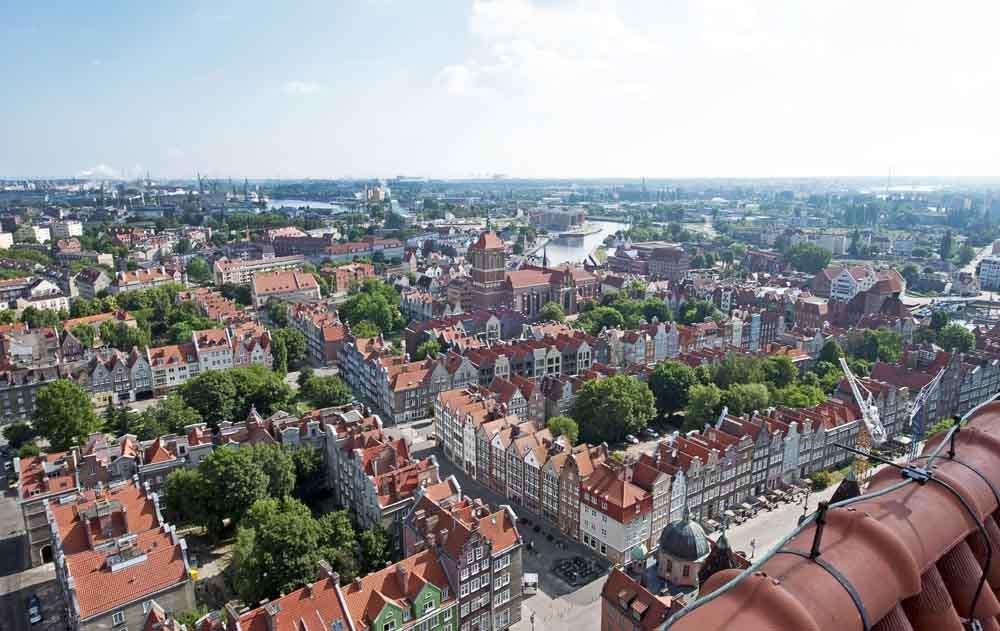 TLC - Gdansk - aerial view 1