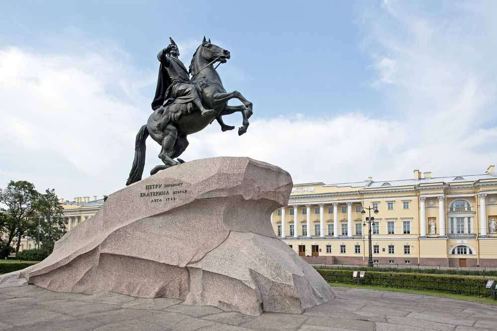 TLC St Pete - Peter the Great on horseback
