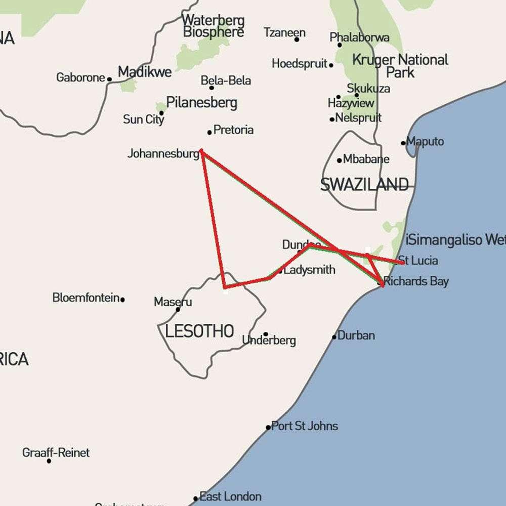 Boers map