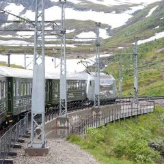Fun on the Flam Railway