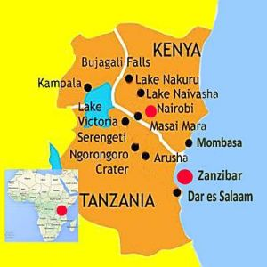 The very best of East Africa Zanzibar Kenya Tanzania The