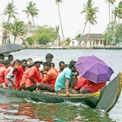 Taking the waters – in Kerala