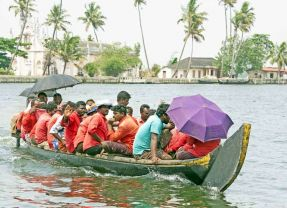 Taking the waters – in Kerala