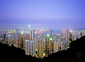 Hong Kong – fairground and finance full-on!