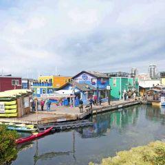 Fisherman's Wharf, Victoria – a fishy tale
