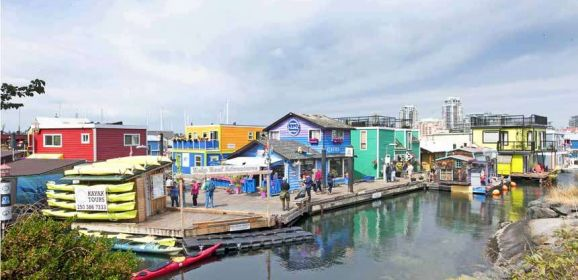Fisherman's Wharf, Victoria – a fishy tale