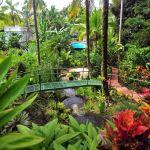 TLC Falls Hotel, garden 2, Manuel Antonio