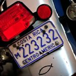 TLC Licence plate, Costa Rica